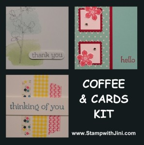 Coffee & Cards Kit-May 2014