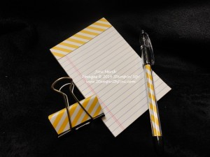 Moonlight note pad and pen (3)