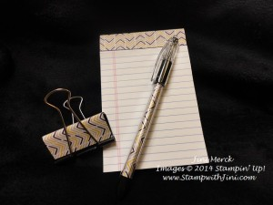 Moonlight note pad and pen (4)