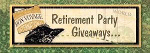 Retirement Party Giveaways Image
