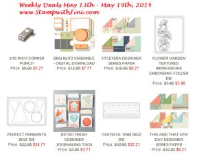 Weekly Deals May 13