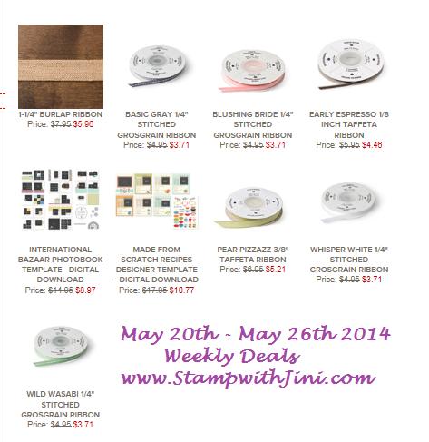 Weekly Deals May 20