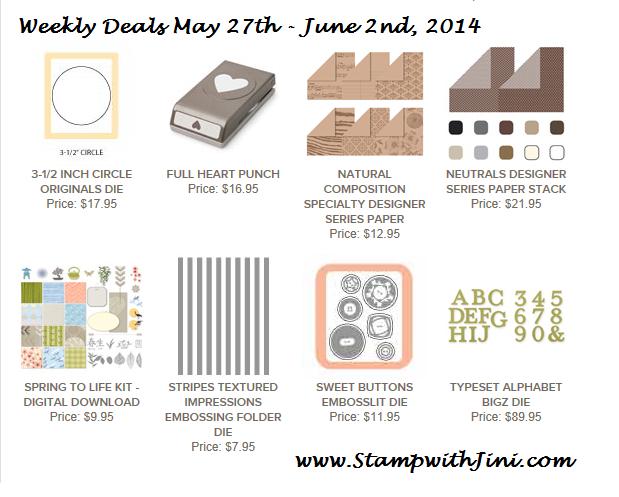 Weekly Deals May 27