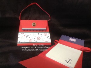 Beach Bag Post It Note Holder Luau Catalog Launch Party 2014 (2)