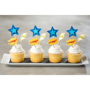 Calling All Heroes Cupcakes