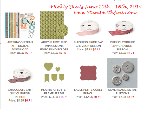 Weekly Deals June 10 2014