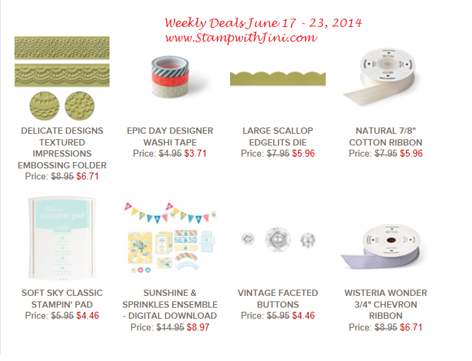 Weekly Deals June 17 2014
