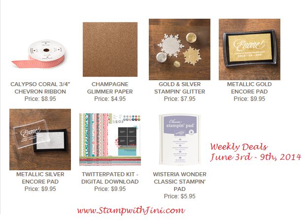 Weekly Deals June 2 2014