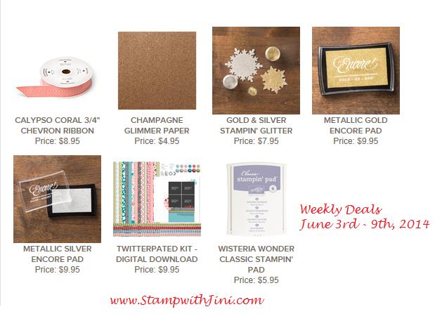 Weekly Deals June 2 2014