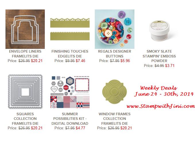 Weekly Deals June 24 2014