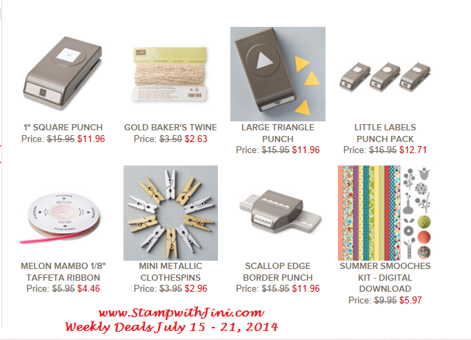 Weekly Deals July 15 2014