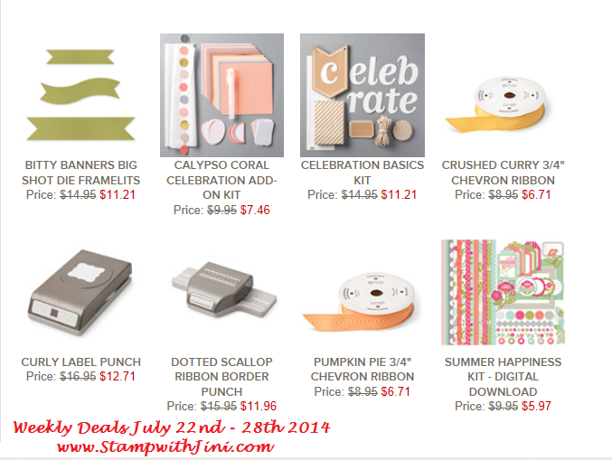 Weekly Deals July 22 2014