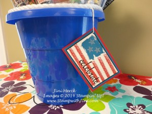 Work of Art 4th of July Bucket (1)