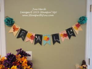 FALL Holiday Catalog Premiere Chalkboard Banner Simply Created Kit