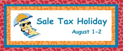 Sales Tax Holiday image