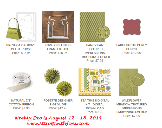 Weekly Deals August 12 2014