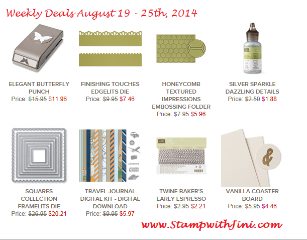 Weekly Deals August 19 2014