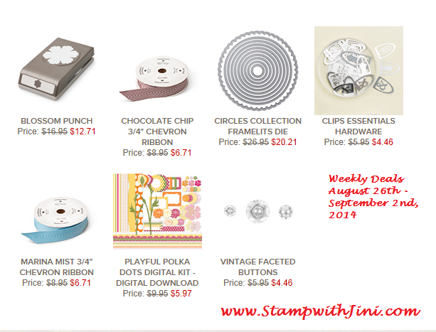 Weekly Deals August 26 20141