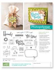 Yee-haw photopolymer flyer image