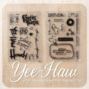 Yee-haw stamp set image