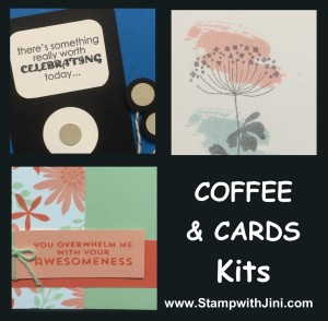 Coffee & Cards kit - August 2014