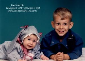 Johnathan & Kaitlin Halloween 1995