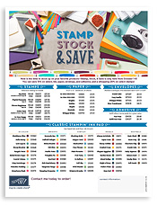 Stamp Stock & Save flyer image