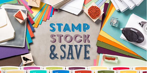 Stamp Stock & Save header