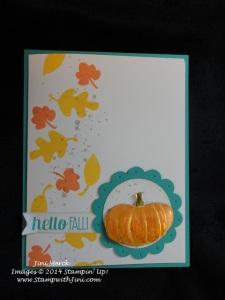 marvelous metallic pumpkins