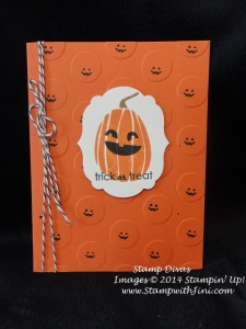 Ghoulish Greetings Stamp Divas Swap Teresa Sept 2014
