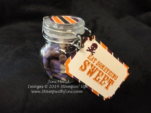 Paper Pumpkin Sept Candy Corn Jar