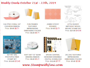 Weekly Deal Oct 21 image