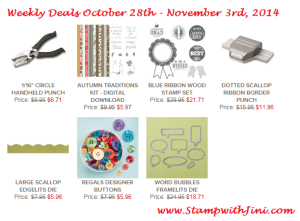 Weekly Deal Oct 28 2014 image