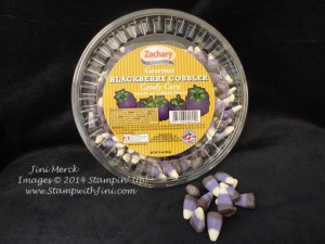 blackberry cobbler candy corn image