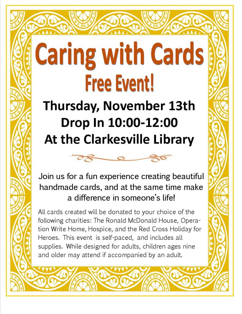 Caring Cards Flyer Nov