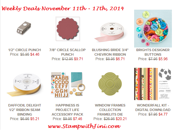 Weekly Deals November 11 2014