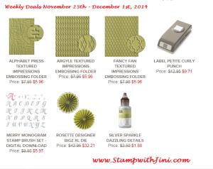 Weekly Deals November 25 2014