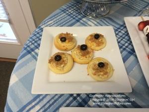 Customer Appreciation  Cheesy Artichoke Crostini