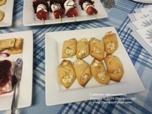 Customer Appreciation  Crab & Cream Cheese snacks