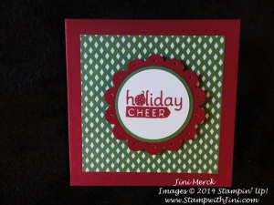 Holiday Cheer note card