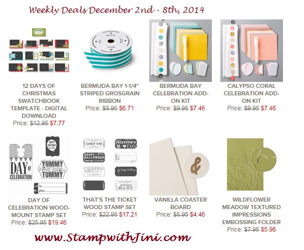 Weekly Deals December 2 2014