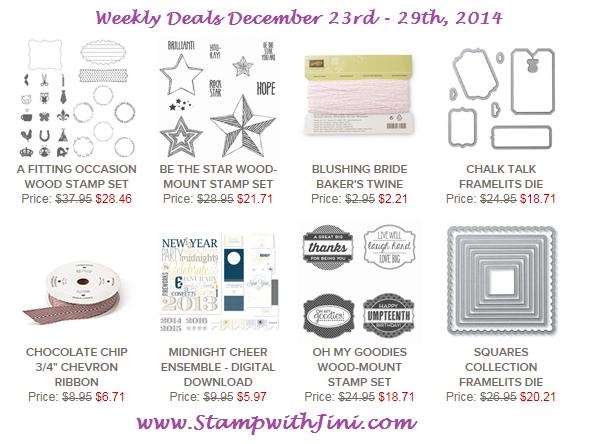 Weekly Deals December 23 2014