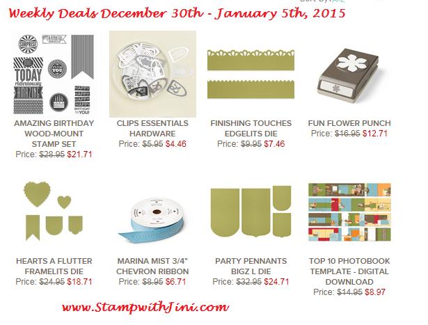 Weekly Deals December 30 2014