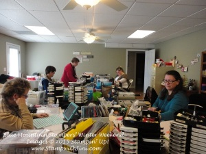Blue Mountain Stampers' Winter Weekend Retreat 2015 (1)