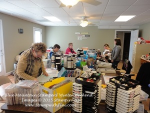 Blue Mountain Stampers' Winter Weekend Retreat 2015 (3)