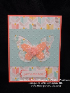 Butterfly Thinlits Blue Mountain Stampers Winter Weekend Retreat Shoebox swap (1)