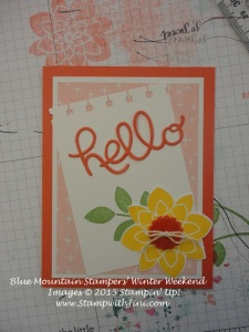 Hello You thinlits Crazy About You Coffee & Cards card
