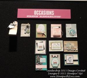 Leadership 2015 Design Contest board