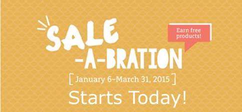 Sale-a-bration count down starts today