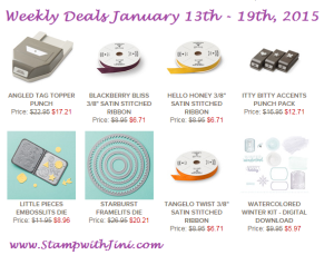 Weekly Deals Jan 13 2015